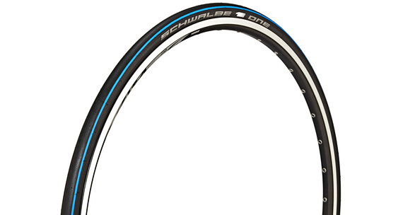 SCHWALBE One Evo 23-622 V-Guard faltbar blue stripes